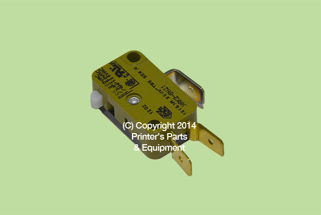 Polar Cutter Backgauge Micro Switch, 210414, 213127, PPEM540_Printers_Parts_&_Equipment_USA