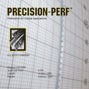 HS Boyd Precision-Perf / CS 20-Foot Roll Center Series Rules