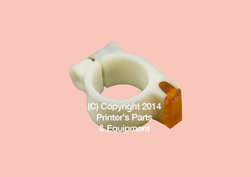 Delivery Gripper Pad Roland Favorit ID:18mm_Printers_Parts_&_Equipment_USA