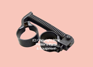 Chain Delivery Spring Rod Assembly Roland ULTRA_Printers_Parts_&_Equipment_USA