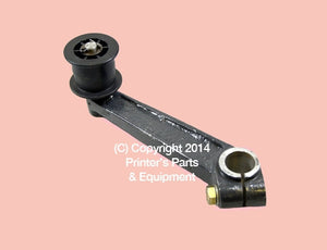 Belt Tightening Bracket with Runner Roland MABEG Right Side_Printers_Parts_&_Equipment_USA