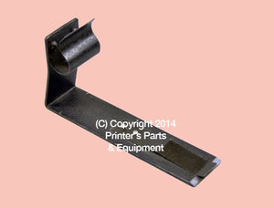 Smoother Clamp Near Front Lay Long Roland FAVORIT_Printers_Parts_&_Equipment_USA