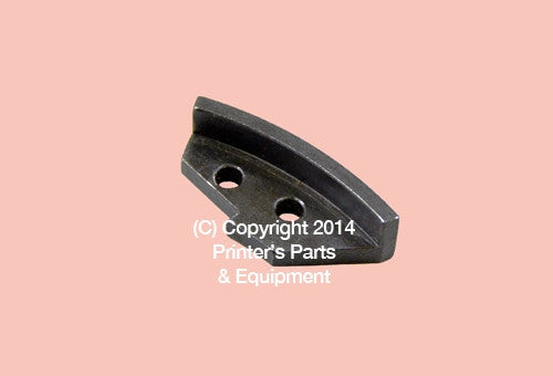 Side Lay Segment Knurled Roland FAVORIT Old Model_Printers_Parts_&_Equipment_USA