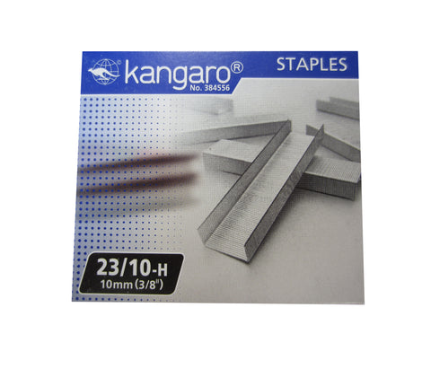 "Replacement Staples 23/10 (3/8"" / 10mm) for KW-Trio Long Reach Stapler"