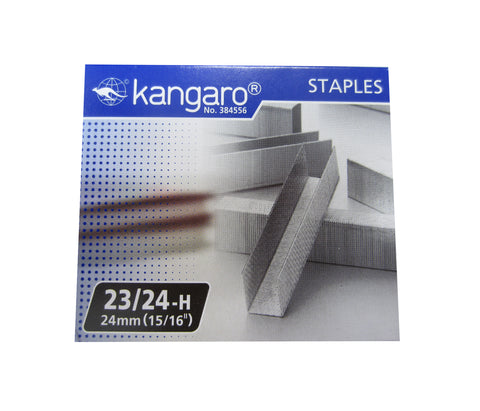 "Replacement Staples 23/24 (15/16"" / 24mm) for KW-Trio Long Reach Stapler"