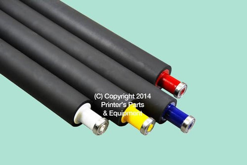 Yellow Ink Distributor System Roller For Heidelberg SM74 HE-M2-009-241F_Printers_Parts_&_Equipment_USA
