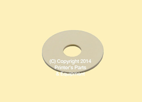 Flat Rubber Disc For Muller Martini 15/16 x 1/4 x 1/16 20.1907 Qty 50_Printers_Parts_&_Equipment_USA