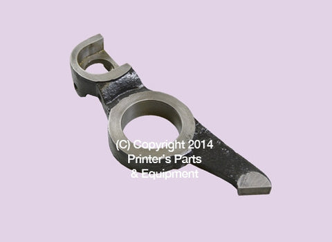 Dampening Form Roller Holder Lower Drive Side