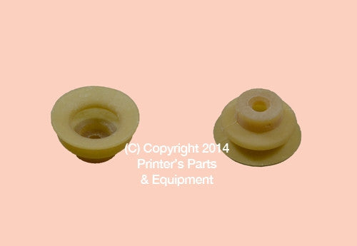 Rubber Suckers #104 Duplo 96F-10051 Qty 12_Printers_Parts_&_Equipment_USA