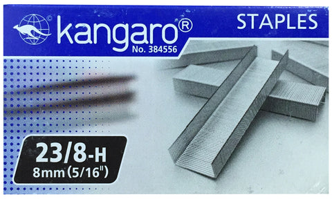 "Replacement Staples 23/8 (5/16"" / 8mm) for KW-Trio Long Reach Stapler"