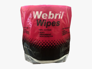 Webril Pure Cotton Wipes Roll 8