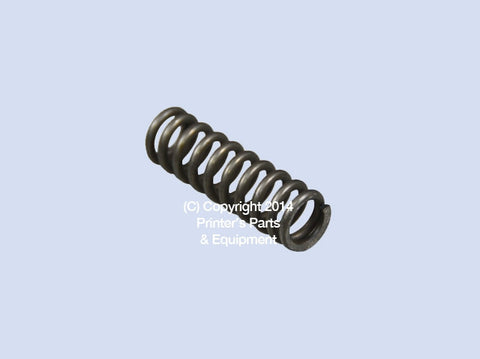 Compression Spring  For Stahl Folder ZD.222-186-01-00