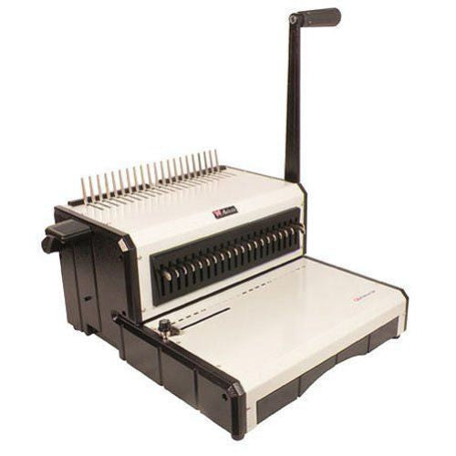 Akiles AlphaBind-CM Manual Plastic Comb Binding Machine_Printers_Parts_&_Equipment_USA