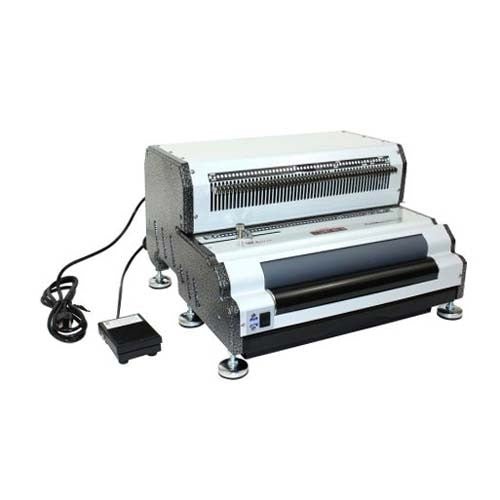Akiles CoilMac EPI+ Electric Oval Hole Coil Binding Machine_Printers_Parts_&_Equipment_USA