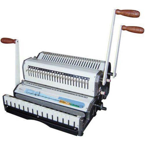 Akiles DuoMac C21 Plastic Comb and 2:1 Wire Binding Machine_Printers_Parts_&_Equipment_USA
