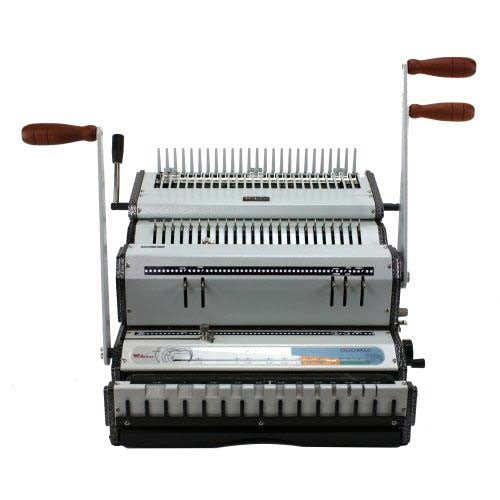 Akiles DuoMac C41 Plastic Comb and 4:1 Coil Binding Machine_Printers_Parts_&_Equipment_USA