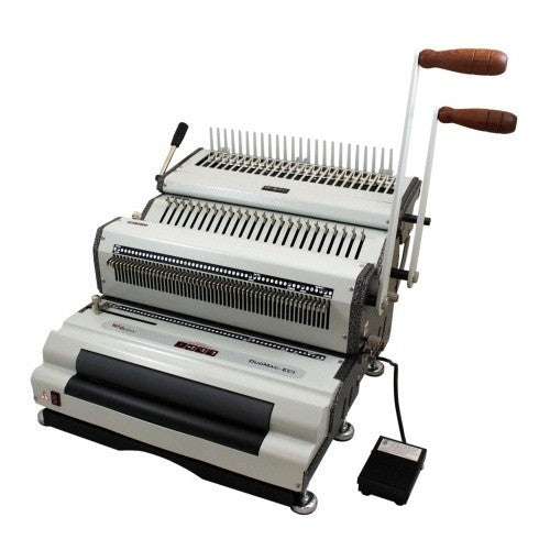Akiles DuoMac C41ECI+ Plastic Comb and 4:1 Coil Binding Machine_Printers_Parts_&_Equipment_USA