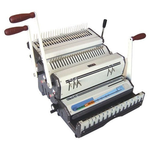 Akiles DuoMac C51 Plastic Comb and 5:1 Coil Binding Machine_Printers_Parts_&_Equipment_USA