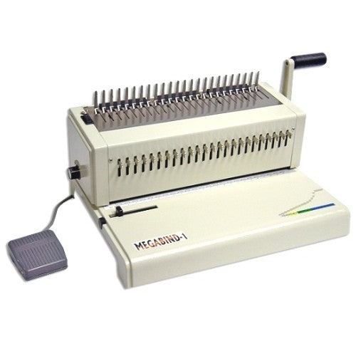 Akiles Megabind 1E Electric Legal Size Comb Binding Machine_Printers_Parts_&_Equipment_USA