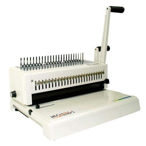 Akiles Megabind 2 Comb Binding Machine with Wire Closer_Printers_Parts_&_Equipment_USA