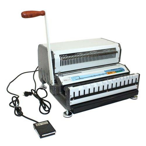 Akiles WireMac E 2:1 Electric Wire Binding Machine_Printers_Parts_&_Equipment_USA