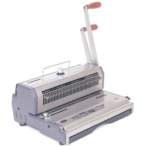 Akiles WireMac 3:1 Manual Double Loop Wire Binding Machine_Printers_Parts_&_Equipment_USA