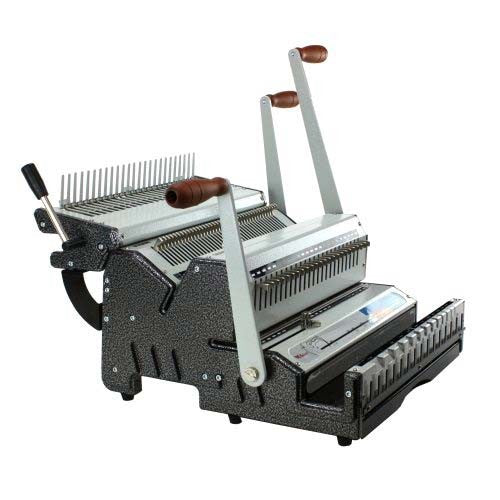 Akiles DuoMac C31 Plastic Comb and 3:1 Wire Binding Machine_Printers_Parts_&_Equipment_USA