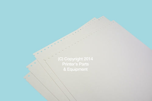Clean Up Sheet For AB Dick 385_Printers_Parts_&_Equipment_USA