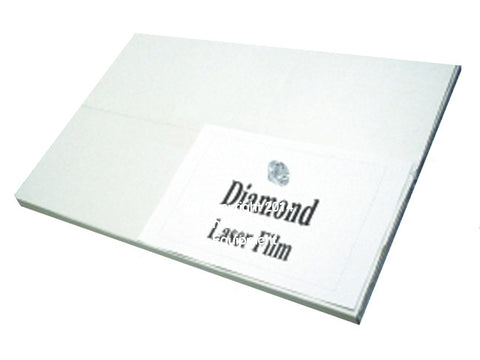 "Diamond Laser Film 8 1/2"" x 11"""