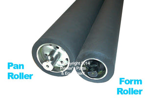 Ink Form & Alcolor Dampening Rollers For Heidelberg GTO52 Set of 12_Printers_Parts_&_Equipment_USA