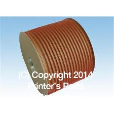 Wire-O Spool 3:1 Black 1/2″_Printers_Parts_&_Equipment_USA