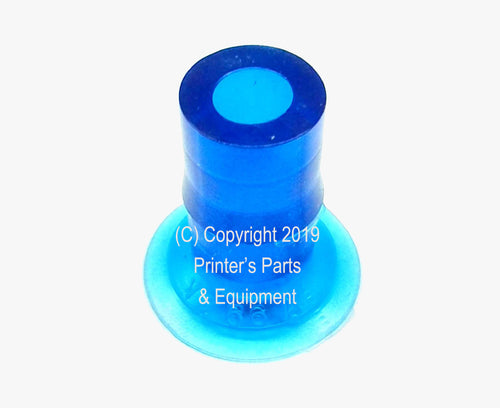 SUCKER FOOT BLUE (LIGHT STOCK) Ryobi RY500/512 P-7580 / 5560-35-166_Printers_Parts_&_Equipment_USA