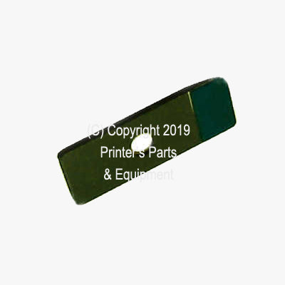 IMPRESSION GRIPPER FINGER (F) WITH RUBBER TIP Ryobi 3200-3302 P-33245 / 5340-23-240_Printers_Parts_&_Equipment_USA
