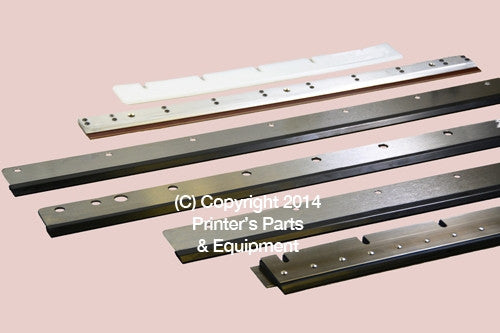 Washup Blade for Komori Lithrone 44 Iron and Rubber_Printers_Parts_&_Equipment_USA