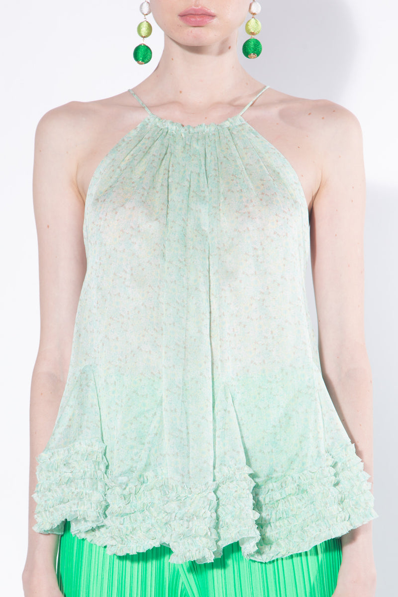 Light Chiffon Top with Godets - Shop Beulah Style