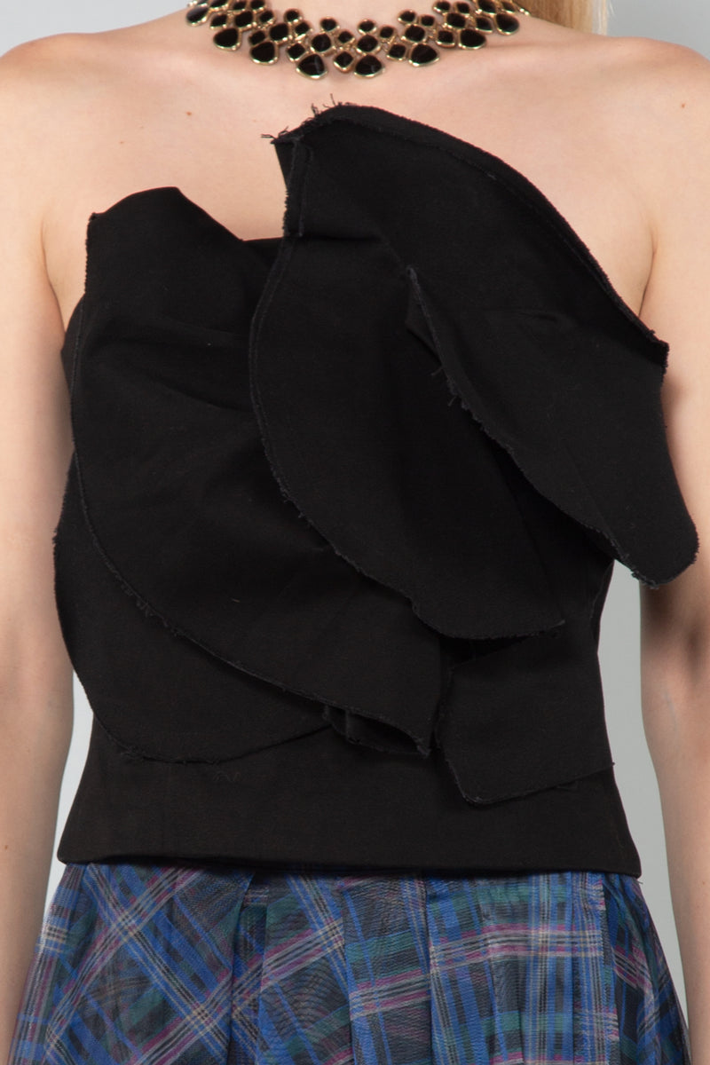 Strapless Top with Twist - Shop Beulah Style
