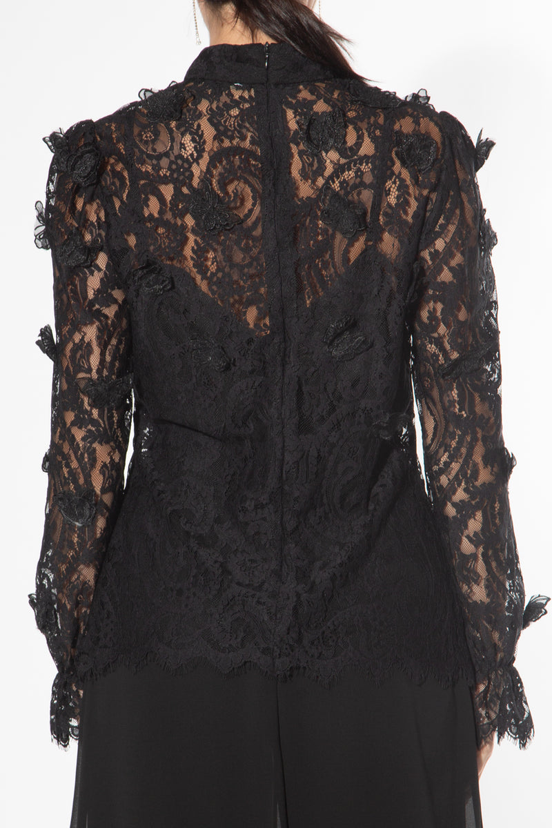 Lace butterfly Blouse
