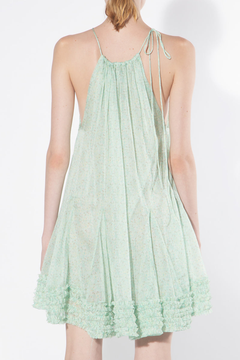 Delicate Chiffon Mini Dress - Shop Beulah Style
