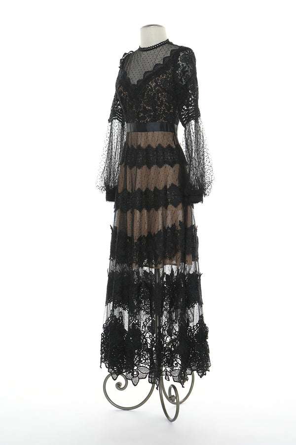 Crochet Lace Veil Dress - Shop Beulah Style