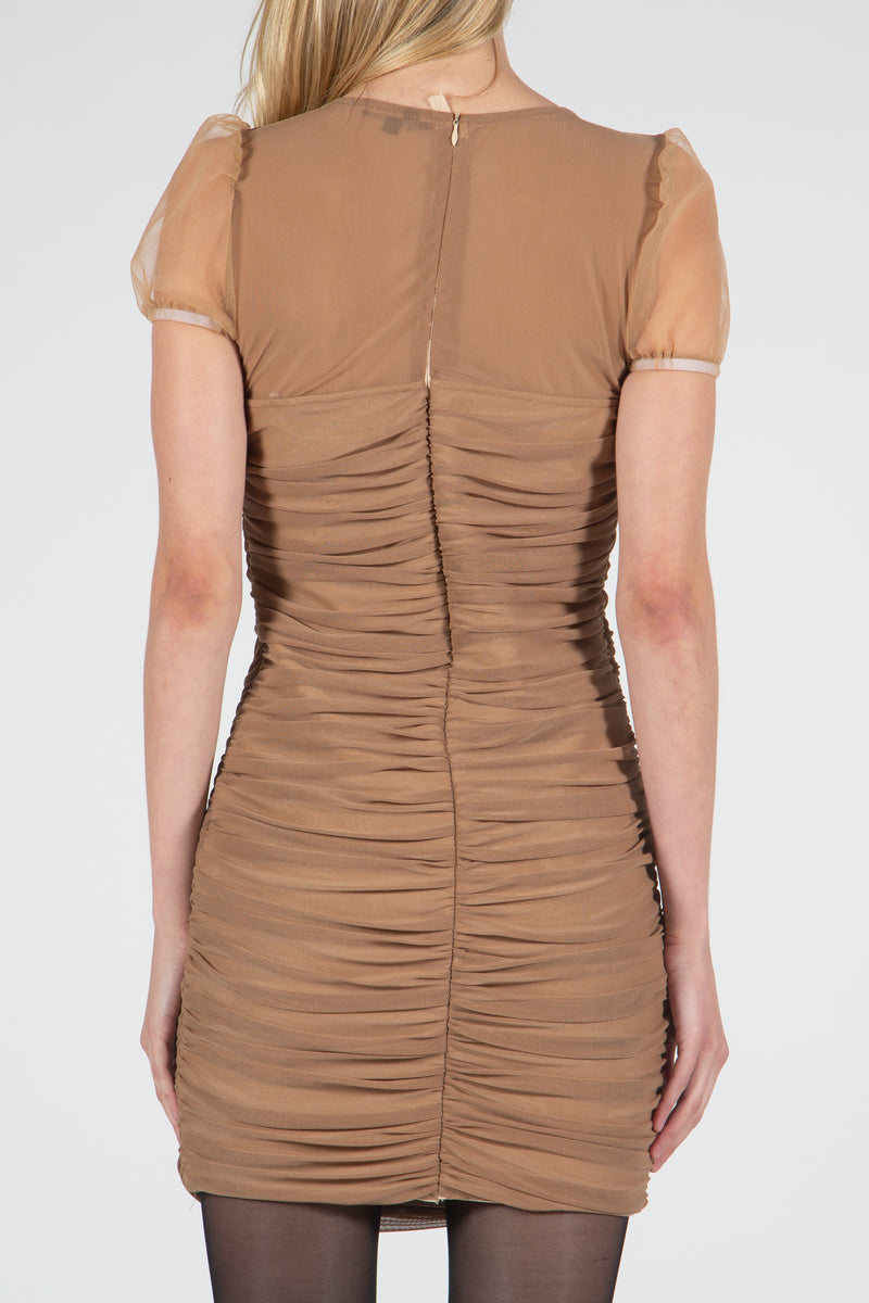 Mesh Mini Length Dress - Shop Beulah Style