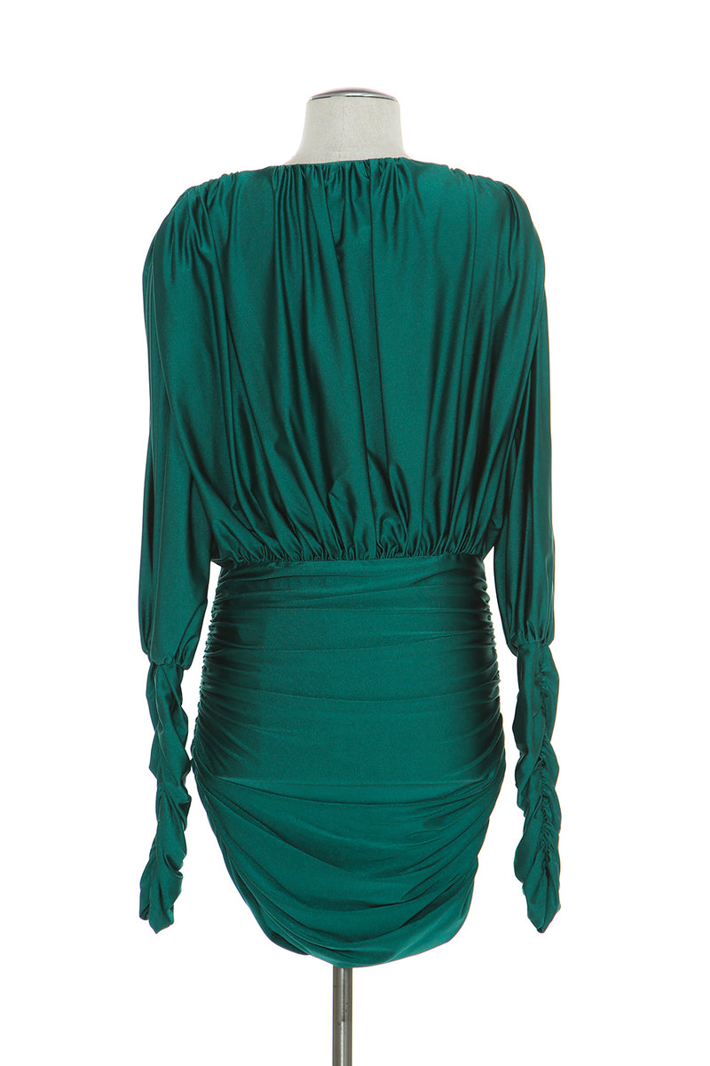 Satin Mini Dress - Shop Beulah Style