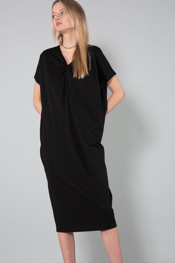 Oversized Short Sleeved Dress - Shop Beulah Style