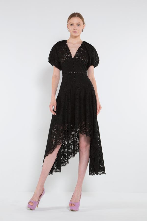 Midi Length Empire Dress