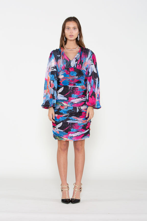 Multicolor Sequins Dress - Shop Beulah Style