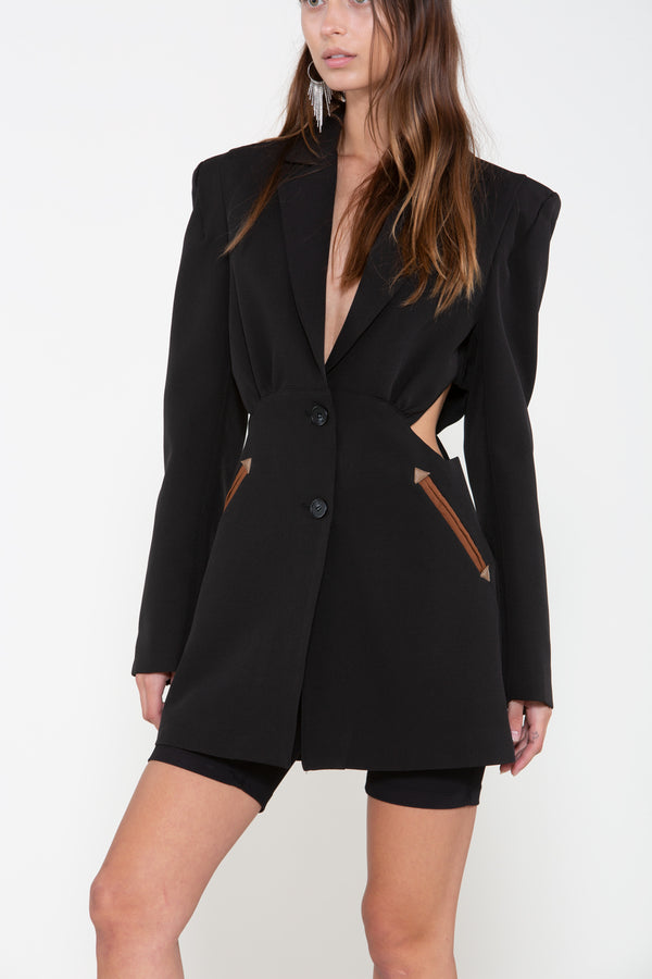 Cut Out Blazer - Shop Beulah Style