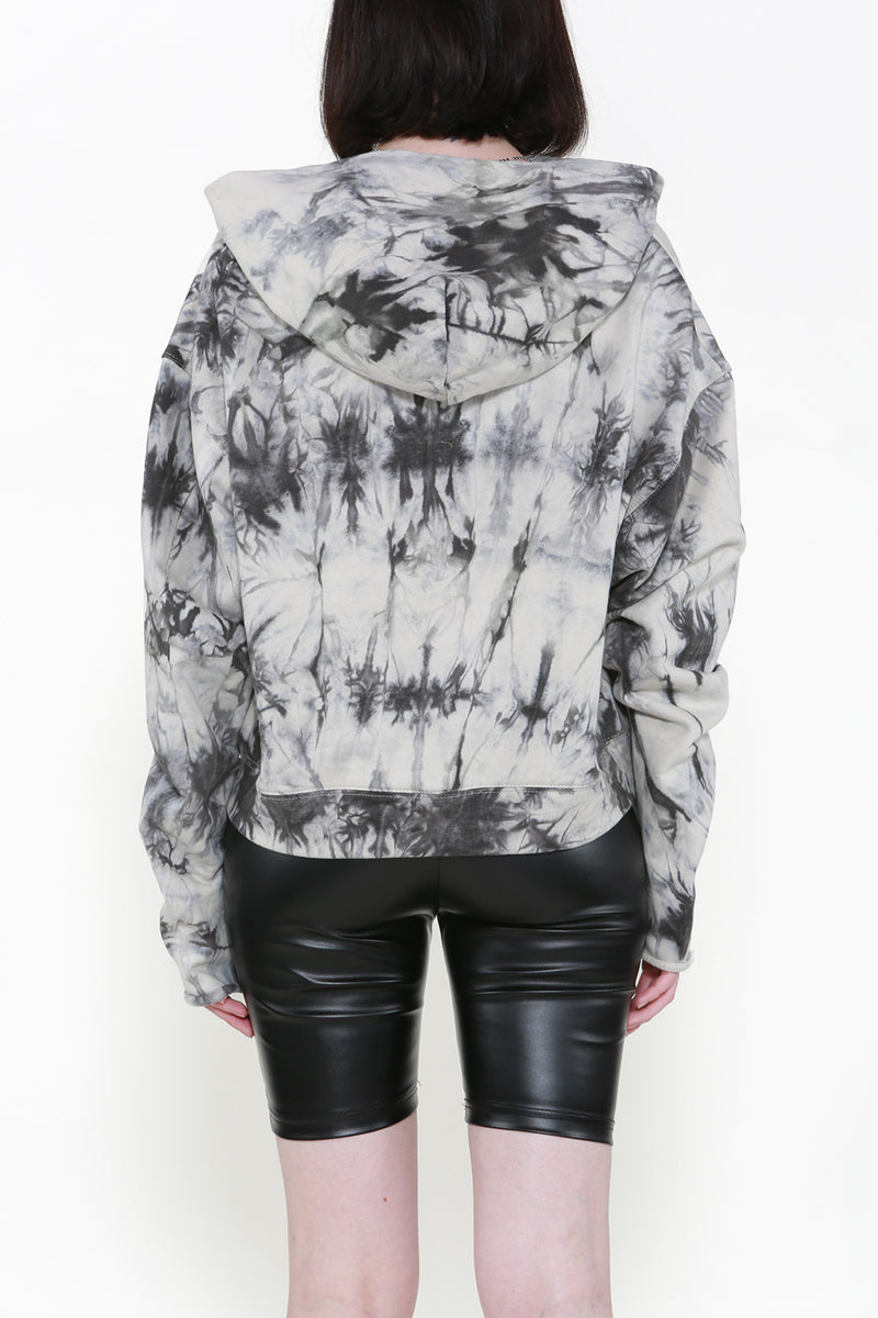 Tie Dye Sweatshirt with A Hoodie - Shop Beulah Style