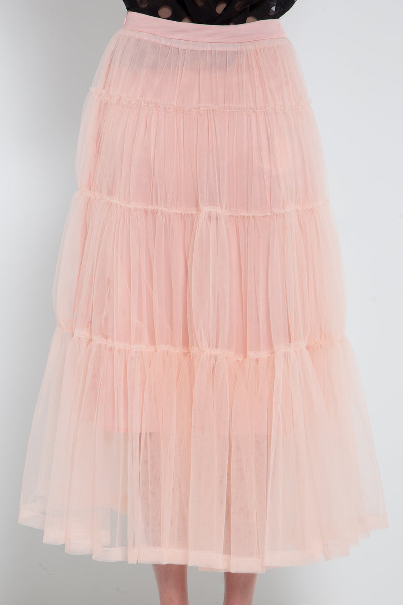 Tiered Tulle Skirt - Shop Beulah Style