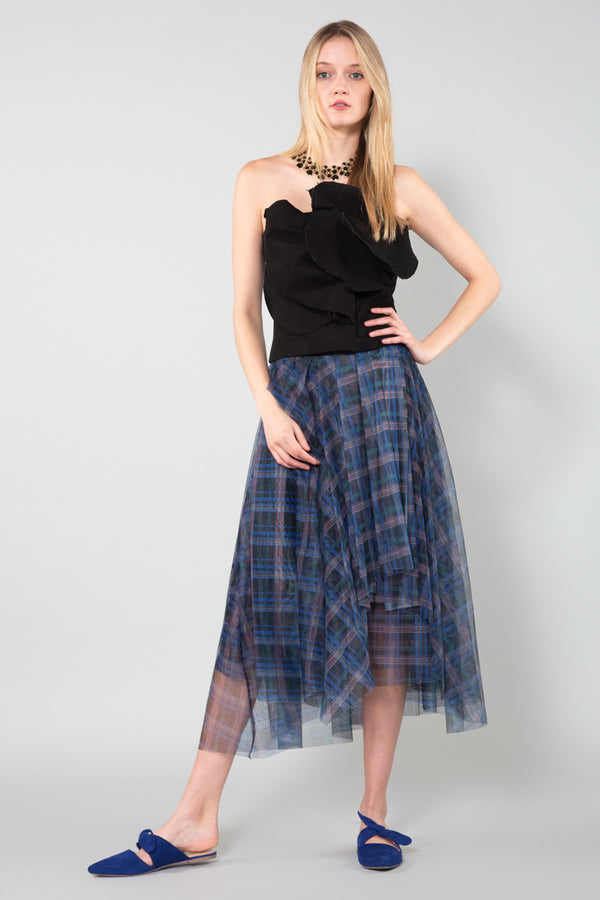 Asymmetric Wrap Skirt - Shop Beulah Style