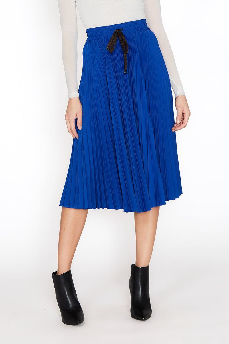 Midi Pleated Skirt - Shop Beulah Style