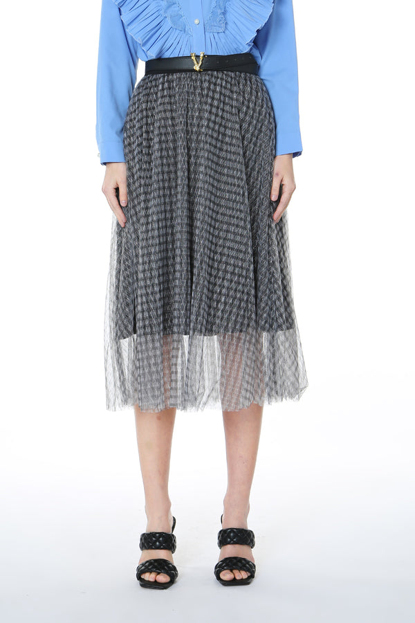 Veil Skirt with Waist band - Shop Beulah Style
